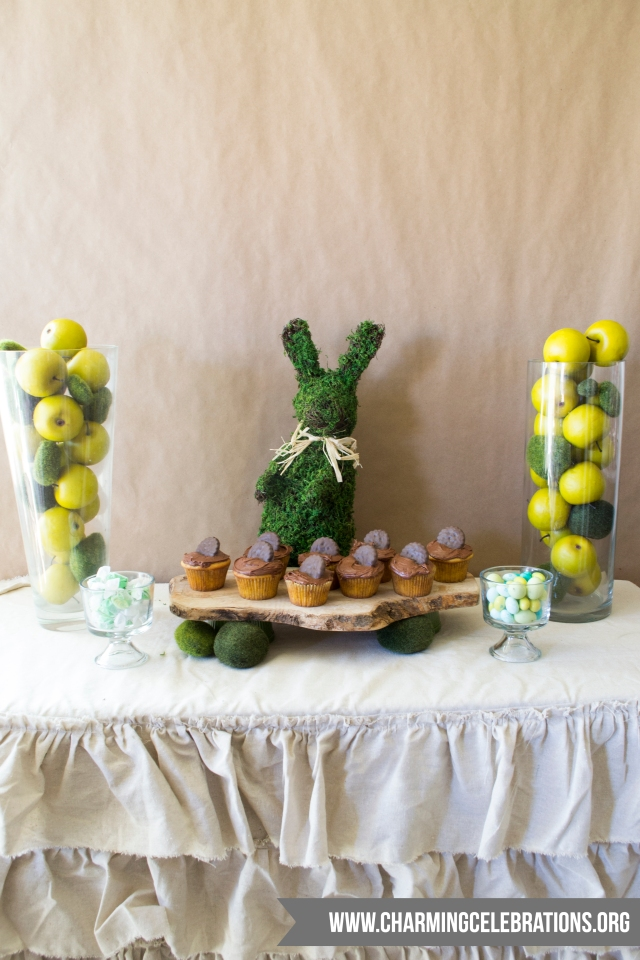 Easter-Dessert-Table-Green-n-Tan